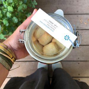 עוגיות 'ניוקי' חמאה-ליים